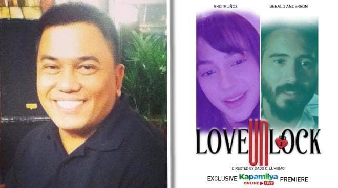 'Love Unlock' director Dado Lumibao on directing Gerald Anderson and Arci Muñoz: 'Ang ganda nilang tingnan'