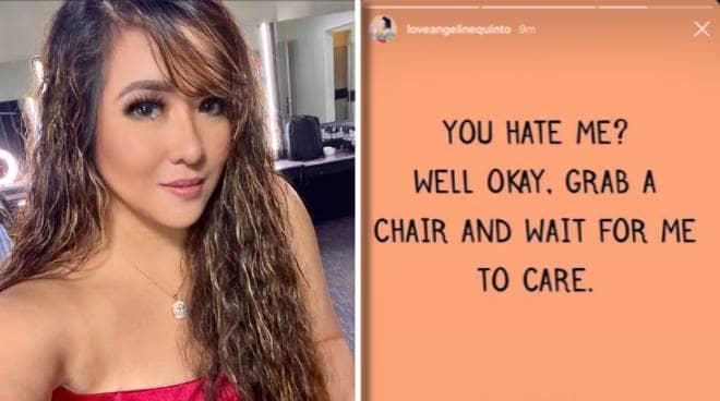 'Stop checking my page': Angeline Quinto, nagpasaring sa social media