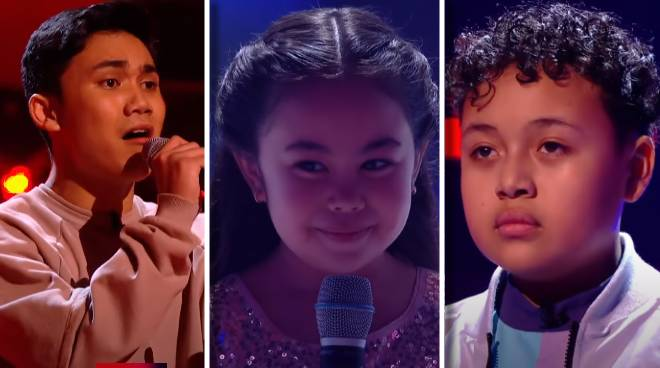Three talented Pinoy kids advance to the semi-finals of The Voice Kids UK 2020