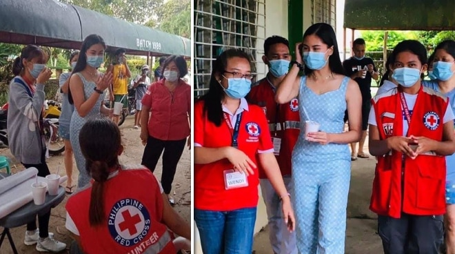 Kisses Delavin extends help to Masbate earthquake victims