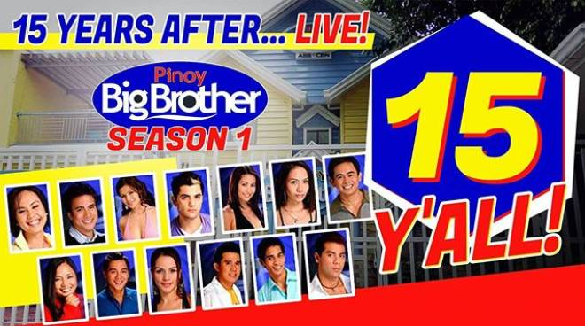 PBB Season 1 housemates reunite online for their 15th anniversary