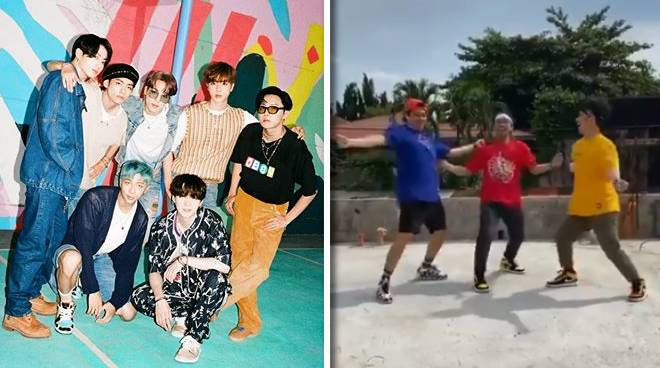 """BTS reacts to Pinoy group Mastermind PH's """"Dynamite"""" dance cover"""