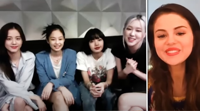 WATCH: Selena Gomez and BLACKPINK talk about 'Ice Cream' collab via video call