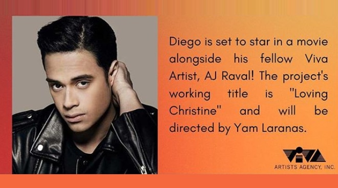 Diego Loyzaga to star in new movie