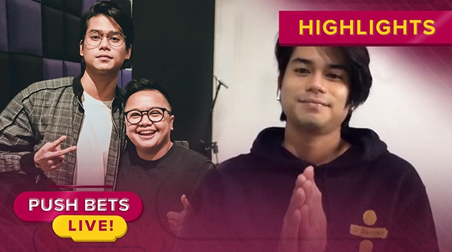 Mark Oblea talks about collaboration with Ice Seguerra | Push Bets Live