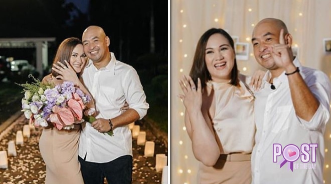 Melissa Ricks shares love story with non-showbiz fiancé Michael