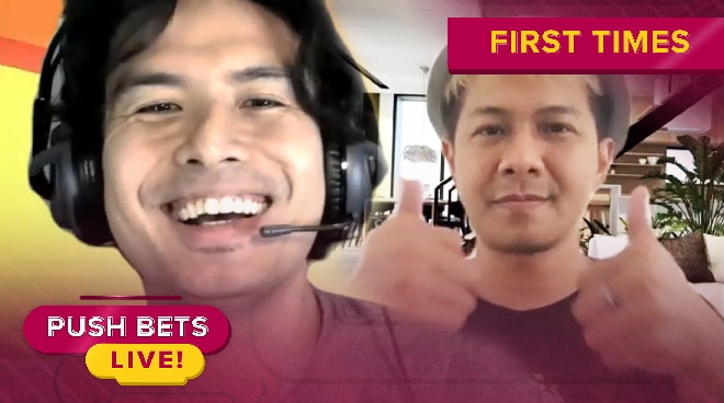 'First Times' with Christian Bautista and Indonesian Idol Delon | Push Bets Highlights