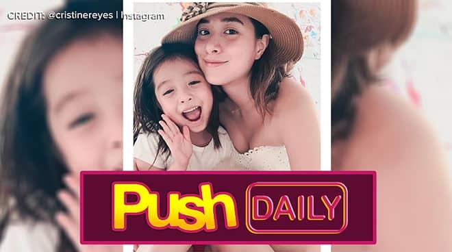 Dahil sa anak na si Amarah, Cristine Reyes natagpuan ang kasiyahan sa buhay | PUSH Daily