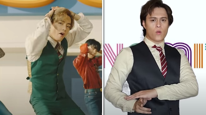 WATCH: Enrique Gil transforms into V of BTS