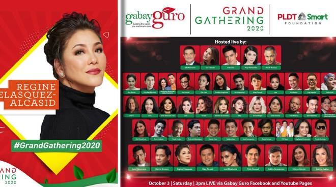 Stars unite for Gabay Guro's first-ever virtual Grand Gathering