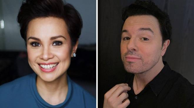 LOOK: How Lea Salonga reacted to Seth MacFarlane saying he'd sing with her