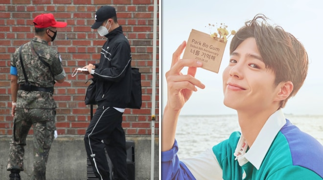 South Korean heartthrob Park Bo-gum enlists in the Navy