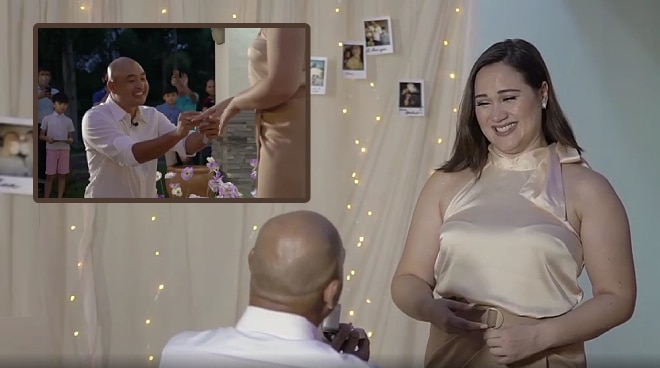 WATCH: Boyfriend's wedding proposal to Melissa Ricks