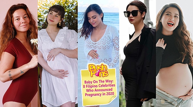Baby On The Way: 8 Filipino Celebrities Who Announced Pregnancy in 2020