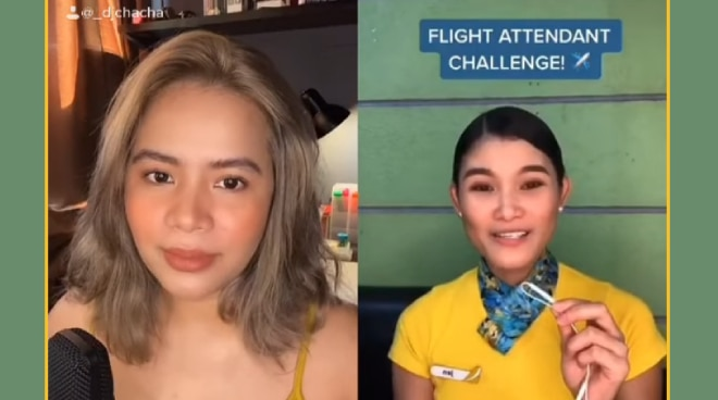 WATCH: DJ Chacha trends on social media with Flight Attendant Challenge