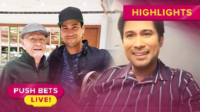 Sam Milby worries about his dad who has dementia | Push Bets Live
