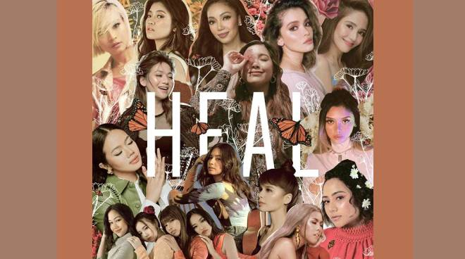 Jayda, KZ Tandingan, Kyla, and Moira dela Torre collaborate with other female artists on the song 'Heal'
