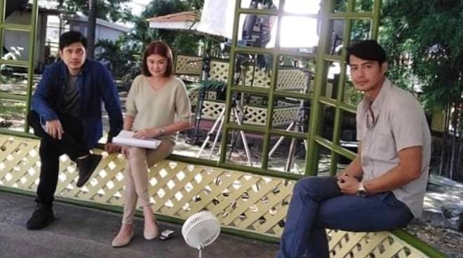LOOK: Angelica Panganiban, Zanjoe Marudo, Paulo Avelino return to taping after lockdown