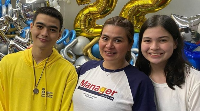 LOOK: Andre Yllana celebrates birthday with family amid quarantine