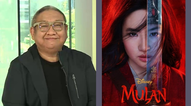 'What a disappointment': Erik Matti criticizes live-action 'Mulan'