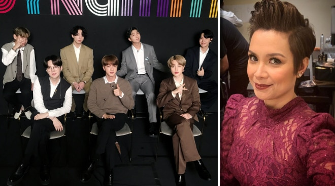 Lea Salonga fangirls over BTS, says she is happy about the group's Billboard achievement