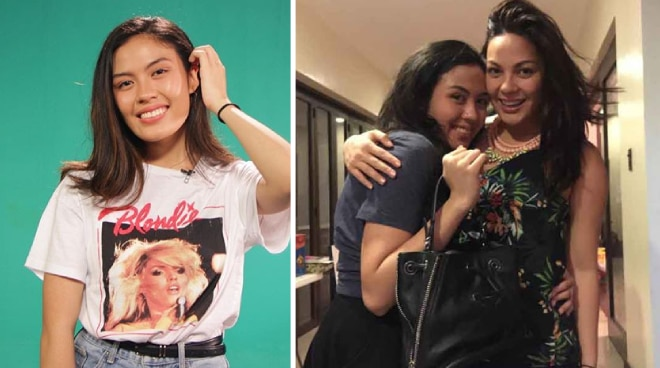 What did Frankie Pangilinan tell a basher who told her to 'be like your ate KC'?
