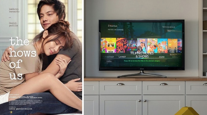 ABS-CBN movies are now available on StarHub's TVOD in Singapore
