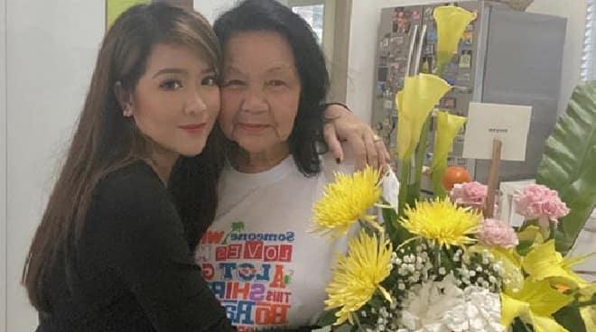 Angeline Quinto, humingi ng panalangin para kay Mama Bob