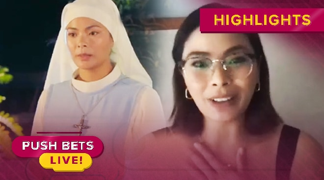 Maxine Medina, inaming nahirapan sa role bilang madre sa 'Beauty Queens' | Push Bets Live