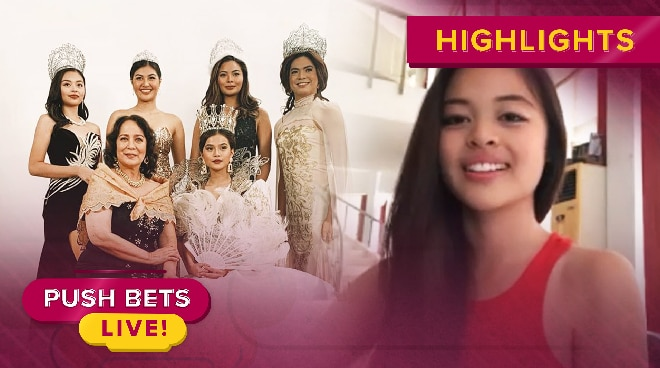 Nella Dizon, inaming pressured makatrabaho ang mga real life beauty queens | Push Bets Live