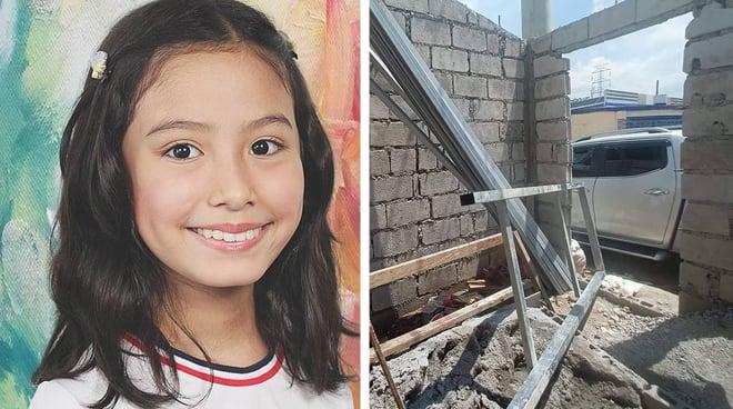 Child star na si Jana Agoncillo, ipinasilip ang ipinapatayong bahay.Child star na si Jana Agoncillo, ipinasilip ang ipinapatayong bahay.