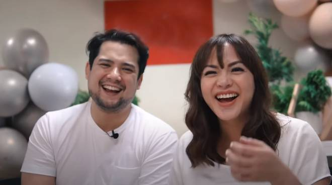 WATCH: Geoff Eigenmann, fiancee Maya Flores reveal gender of third child