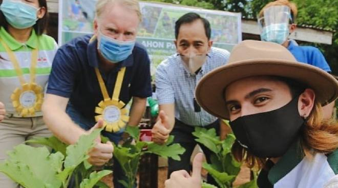 James Reid goes to Nueva Ecija to support Department of Agriculture's PAG-AHON program