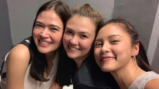 How did Angelica Panganiban's friendship with Kim Chiu and Bela Padilla develop over time?