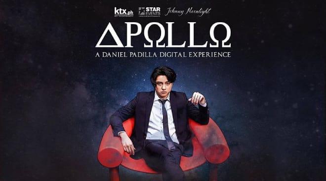 Daniel Padilla's digital concert 'Apollo' landing on October 11