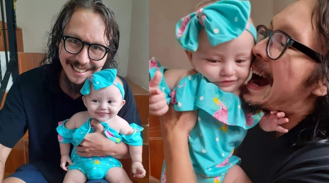 Baron Geisler on daughter Tali: 'I'll strive harder so I can give her the best in life'