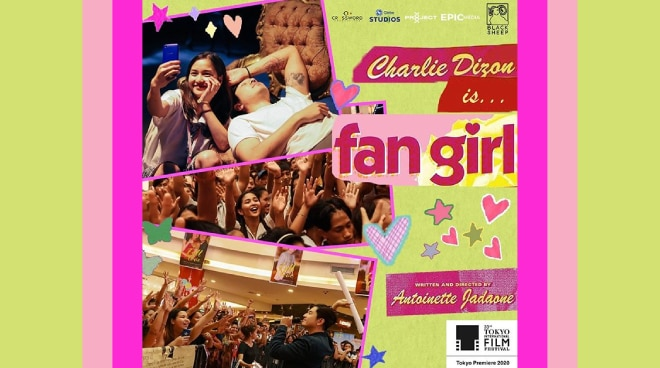 Antoinette Jadaone's 'Fan Girl' film to premier at the 33rd Tokyo International Film Festival