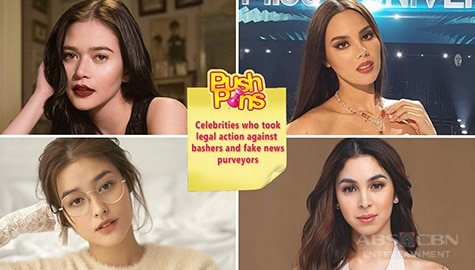 Celebrities who took legal action against bashers and fake news purveyors | Push Pins